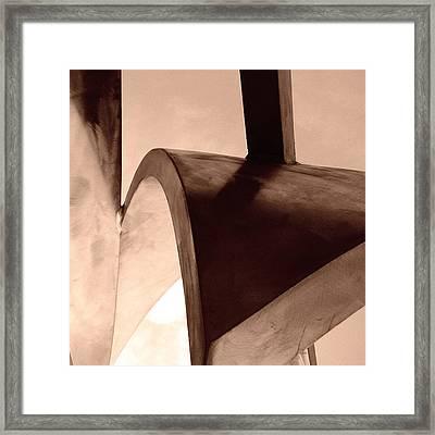 08017 Framed Print by Jeffrey Freund