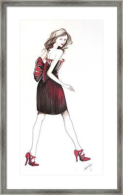 09 Framed Print by Malusa  Pinto