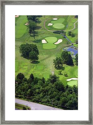 17th Hole Sunnybrook Golf Club Framed Print by Duncan Pearson