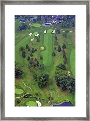 18th Hole Sunnybrook Golf Club Framed Print by Duncan Pearson