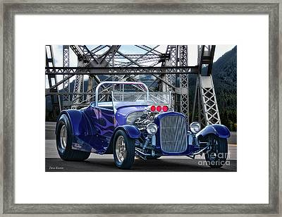 1927 Ford Model T Roadster Framed Print by Dave Koontz
