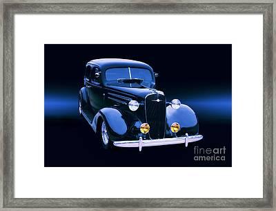 1935 Chevrolet Master Sedan Framed Print by Thomas Burtney