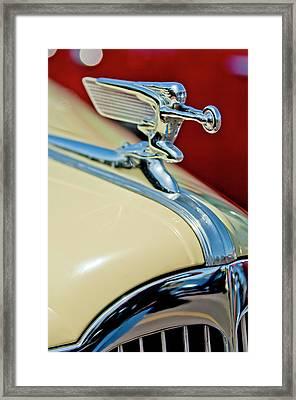 1940 Packard Hood Ornament Framed Print by Jill Reger