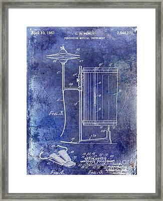 1951 Percussion Patent Framed Print by Jon Neidert