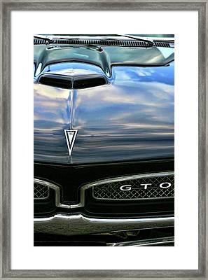 1967 Pontiac Gto Framed Print by Gordon Dean II