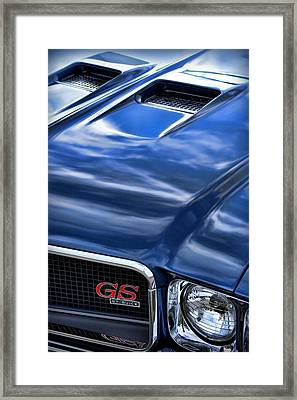 1970 Buick Gs 455  Framed Print by Gordon Dean II