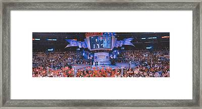 2000 Democratic National Convention Framed Print by Panoramic Images