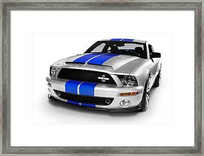 2008 Shelby Ford Gt500kr Framed Print by Oleksiy Maksymenko