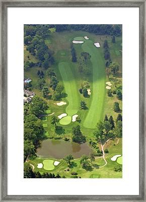 3rd Hole Sunnybrook Golf Club 398 Stenton Avenue Plymouth Meeting Pa 19462 1243 Framed Print by Duncan Pearson