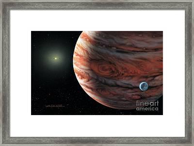 55 Cancri 2007 Framed Print by Lynette Cook