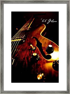'68 Gibson Framed Print by Christopher Gaston