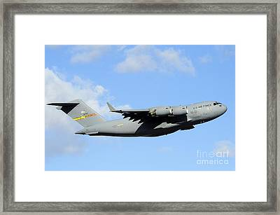 A C-17 Globemaster IIi Framed Print by Stocktrek Images
