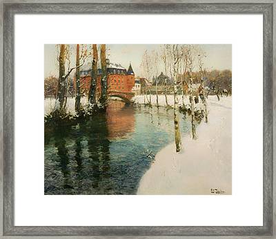 A Chateau In Normandy Framed Print by Mountain Dreams