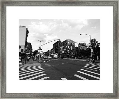 A Day In Brooklyn Framed Print by Mountain Dreams
