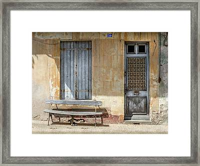 A House In France Framed Print by Georgia Fowler