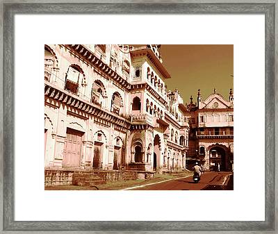 A  Framed Print by Mohammed Nasir