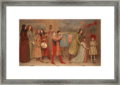 A Pageant Of Childhood Framed Print by Mountain Dreams