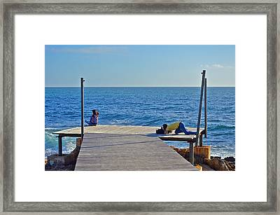 about LOVE. The power of love. Framed Print by Andy Za