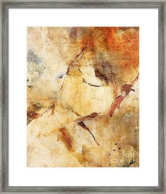 Abstract 131 Framed Print by Angelina Cornidez