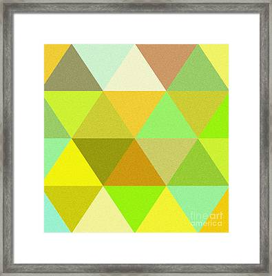 Abstract Colors  Framed Print by Celestial Images