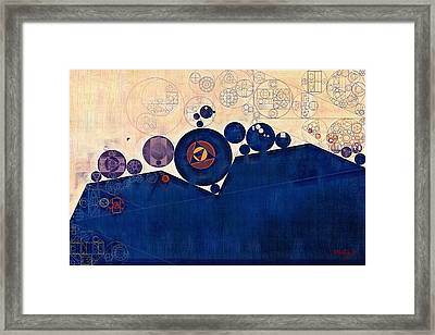 Abstract Painting - Champagne Framed Print by Vitaliy Gladkiy