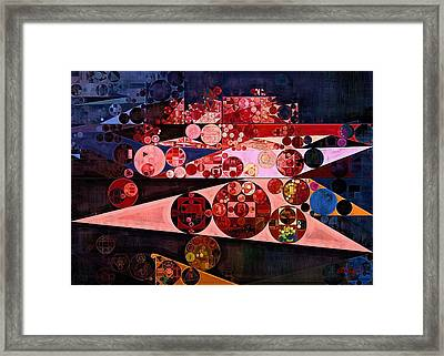 Abstract Painting - Eruption Framed Print by Vitaliy Gladkiy