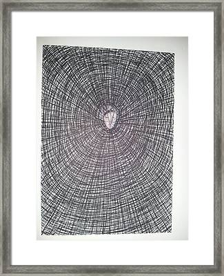 Abstraction 9 Framed Print by William Douglas