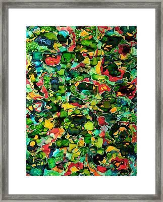 Abstractsia Framed Print by Angela McKenzie