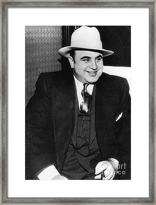 Al Capone Framed Print by American School