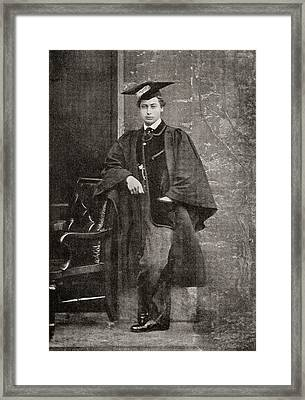 Albert Edward, Prince Of Wales, 1841 Framed Print by Vintage Design Pics