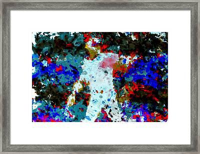 Alex Rodriguez 02b Framed Print by Brian Reaves