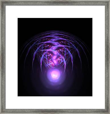 Alien Framed Print by Steve K