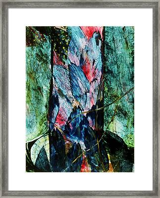 Angels Descending Framed Print by Sue Reed