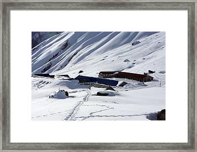 Annapurna South Base Camp Framed Print by Aidan Moran