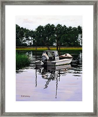 Apalach Framed Print by Rick McKinney