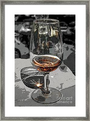 Aperitif Framed Print by Michelle Meenawong