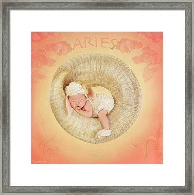 Aries Framed Print by Anne Geddes
