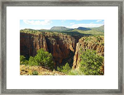 Arizona Landscape Framed Print by Jeff Swan