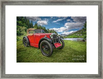 Arriving In Style Framed Print by Adrian Evans