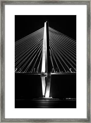 Arthur Ravenel Jr. Bridge  Framed Print by Dustin K Ryan