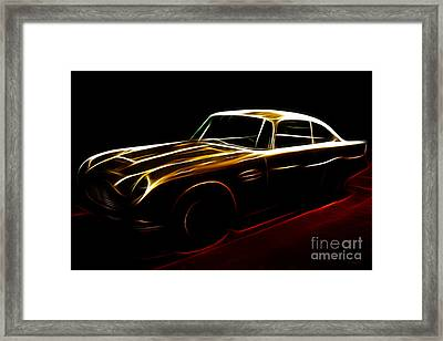Aston Martin Db5 Framed Print by Wingsdomain Art and Photography