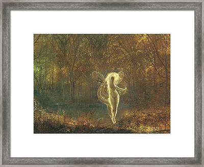 Autumn Framed Print by John Atkinson Grimshaw