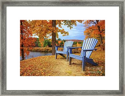 Autumn Splendor Framed Print by Edward Fielding