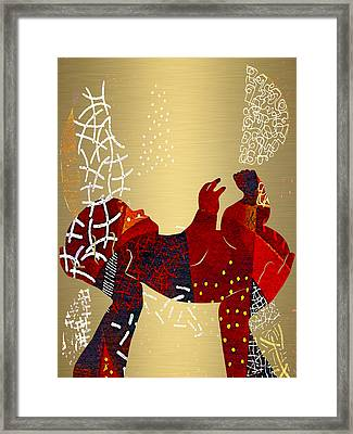 Baby Celebration Framed Print by Marvin Blaine