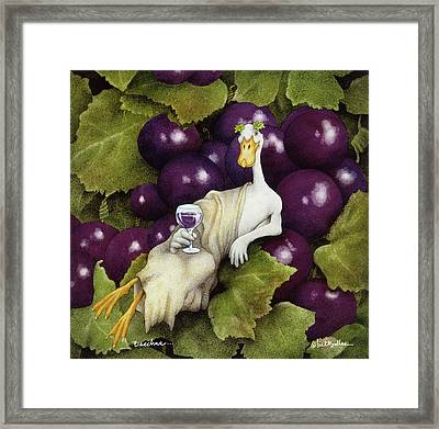Bacchus... Framed Print by Will Bullas