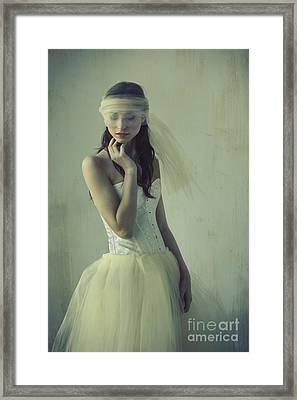 Ballerina Framed Print by Diane Diederich