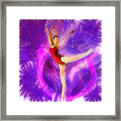 Ballet Framed Print by Anthony Caruso