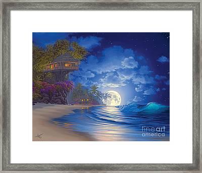 Banyan Moon Framed Print by Al Hogue