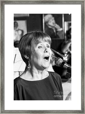 Barbara Lea, Jazz Vocalist Framed Print by The Phillip Harrington Collection