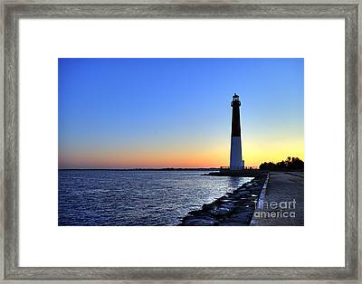 Barnegat Lighthouse Framed Print by John Greim